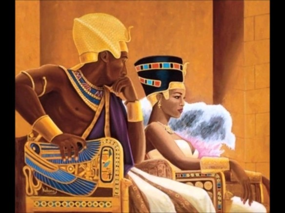"""Notice that the ideal male ruler has a """"chocolate"""" complexion, and his so-called Queen is significantly lighter?"""